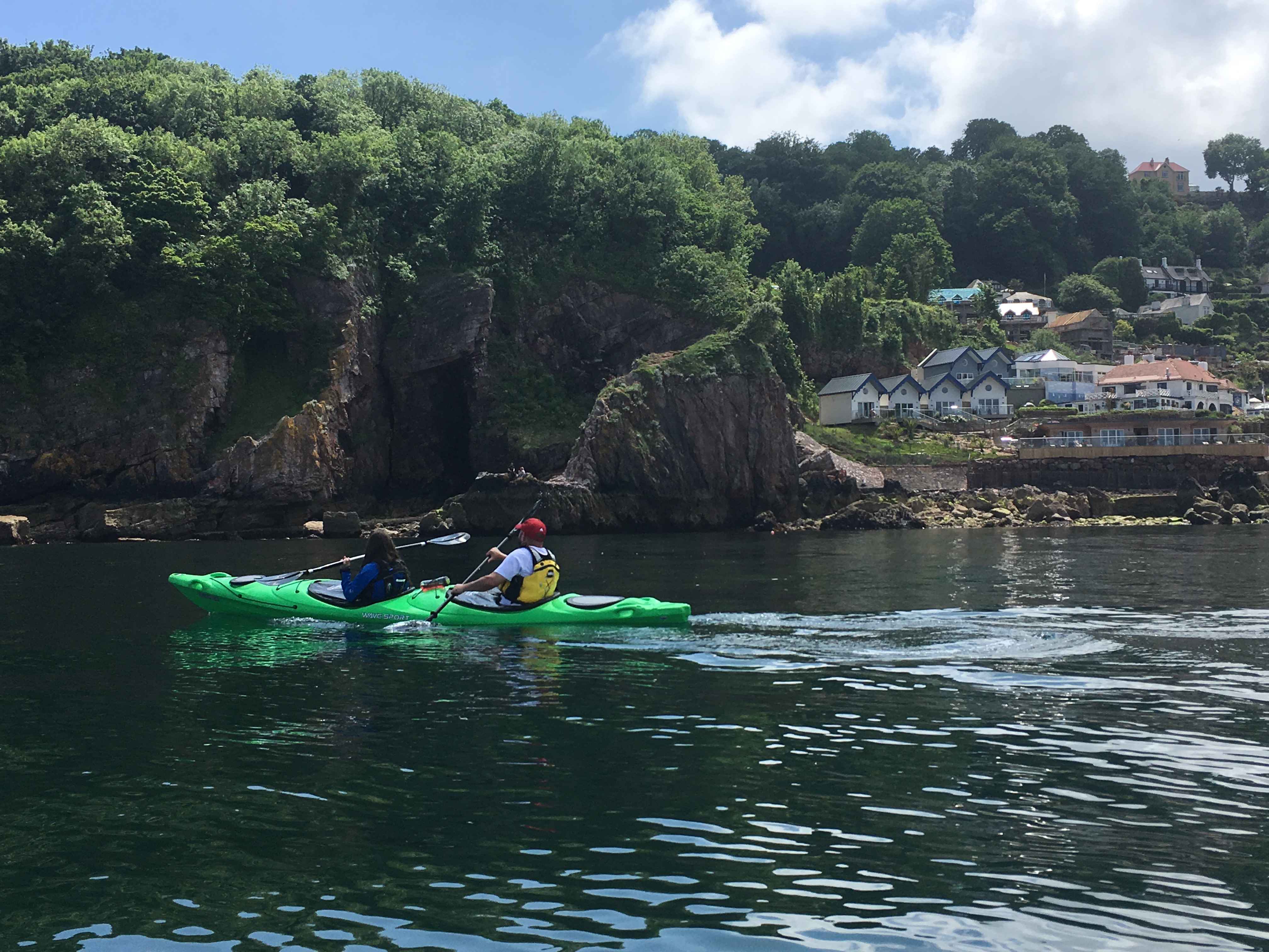 Sea Kayaking through Babbacomeb Bay