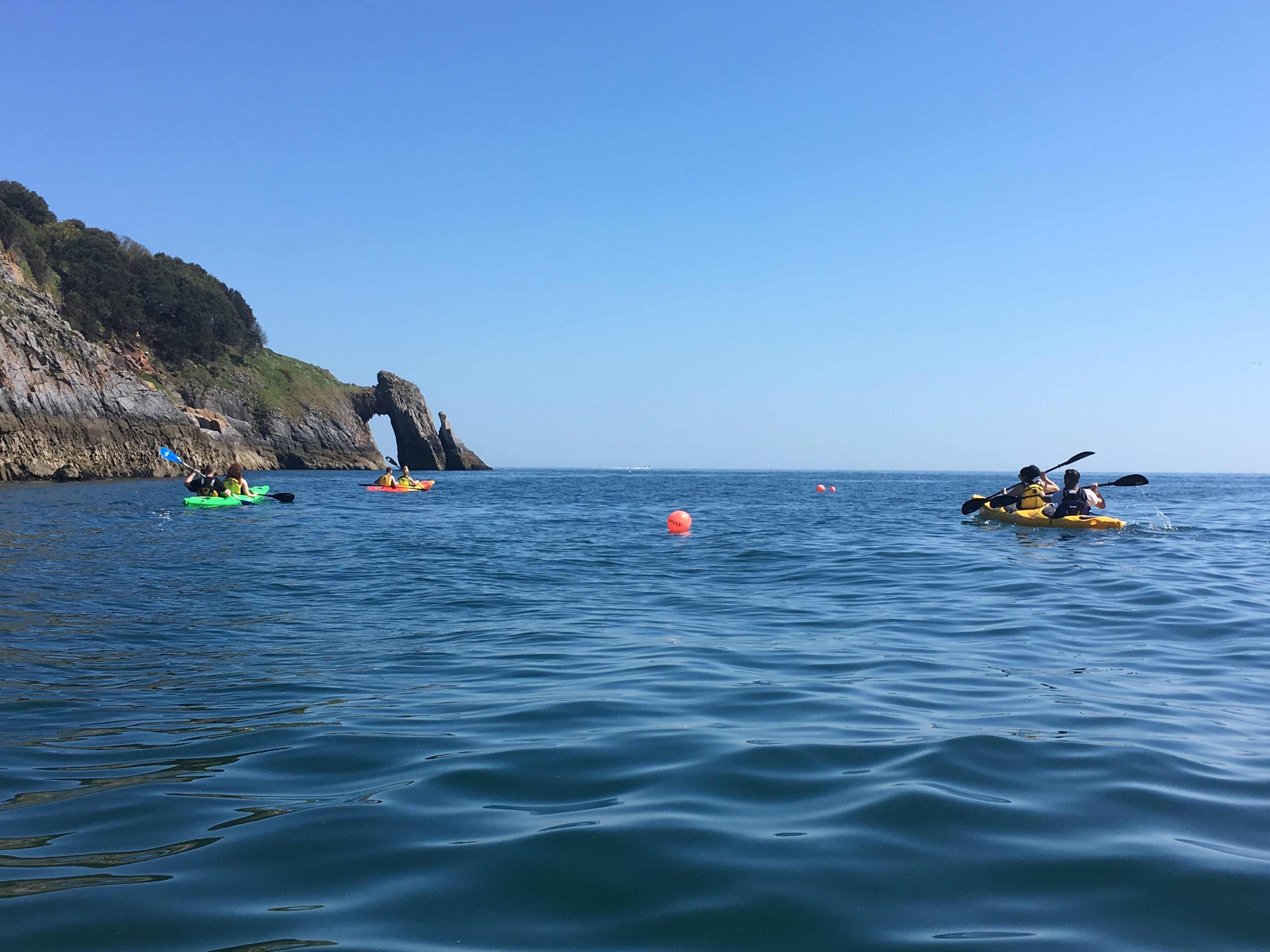 Sea Kayak Tour to Natural Arch, Torquay