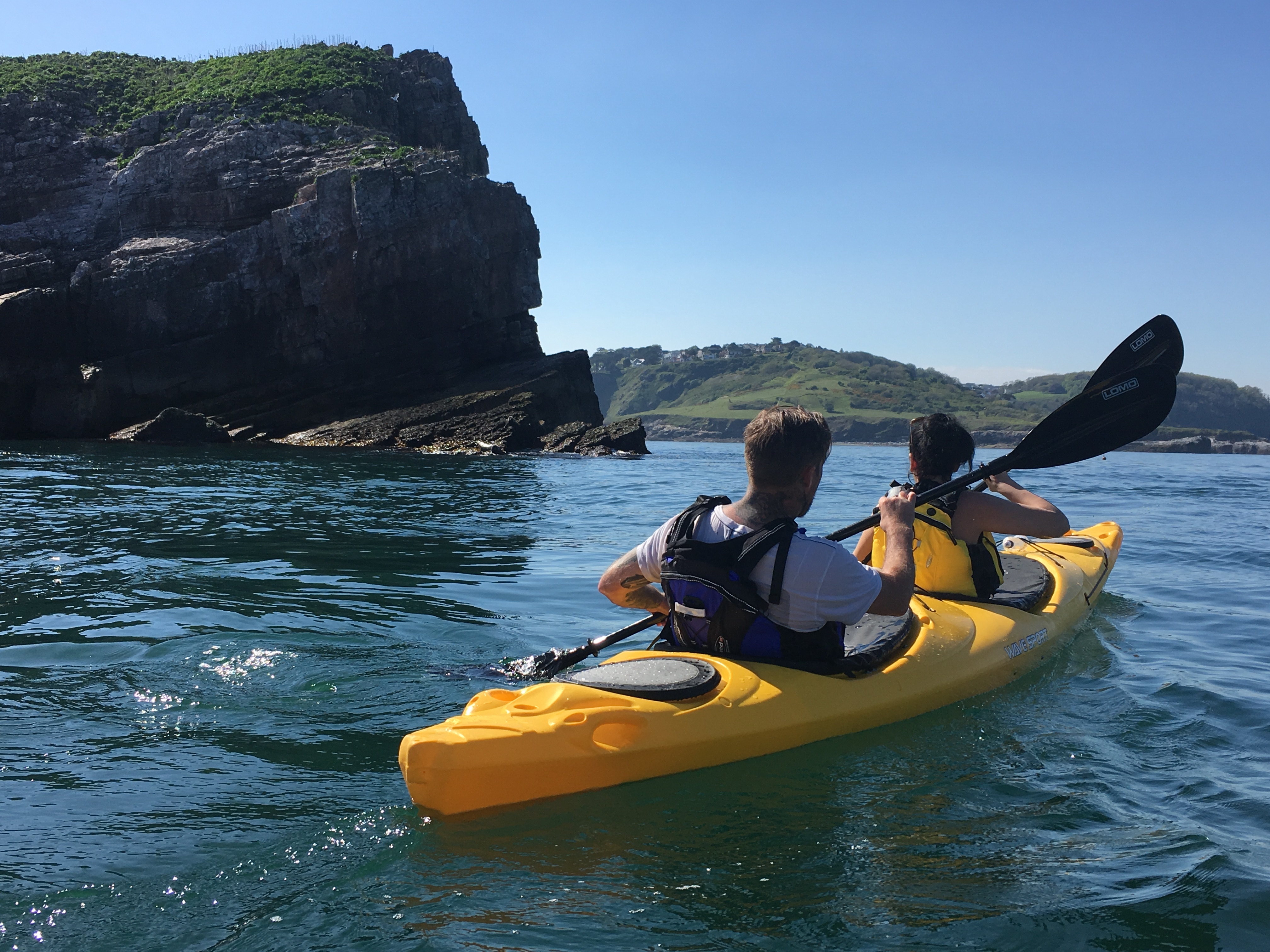 Sea Kayaking around the Orestone Rock