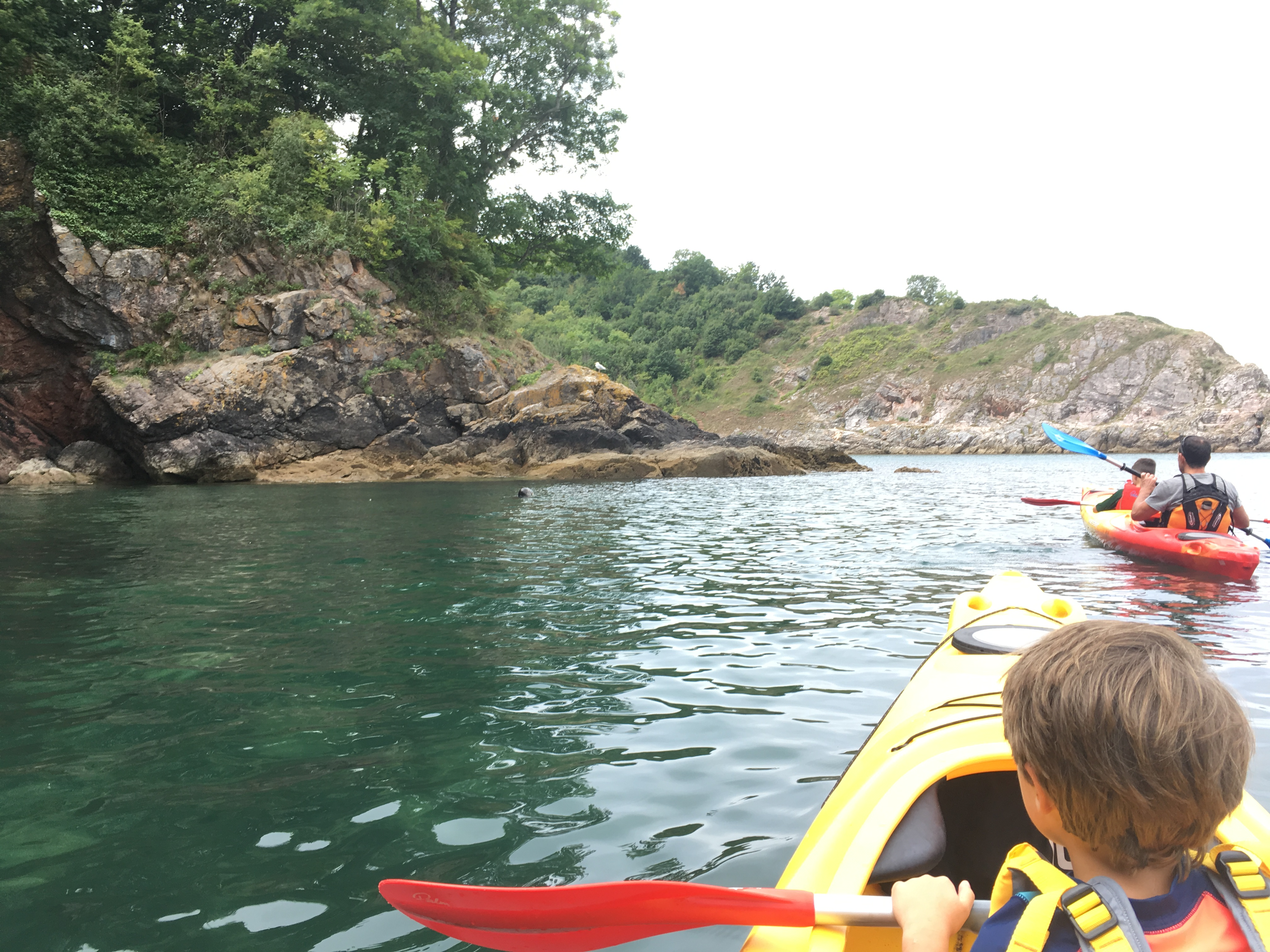 Family Tour to Fishcombe Cove