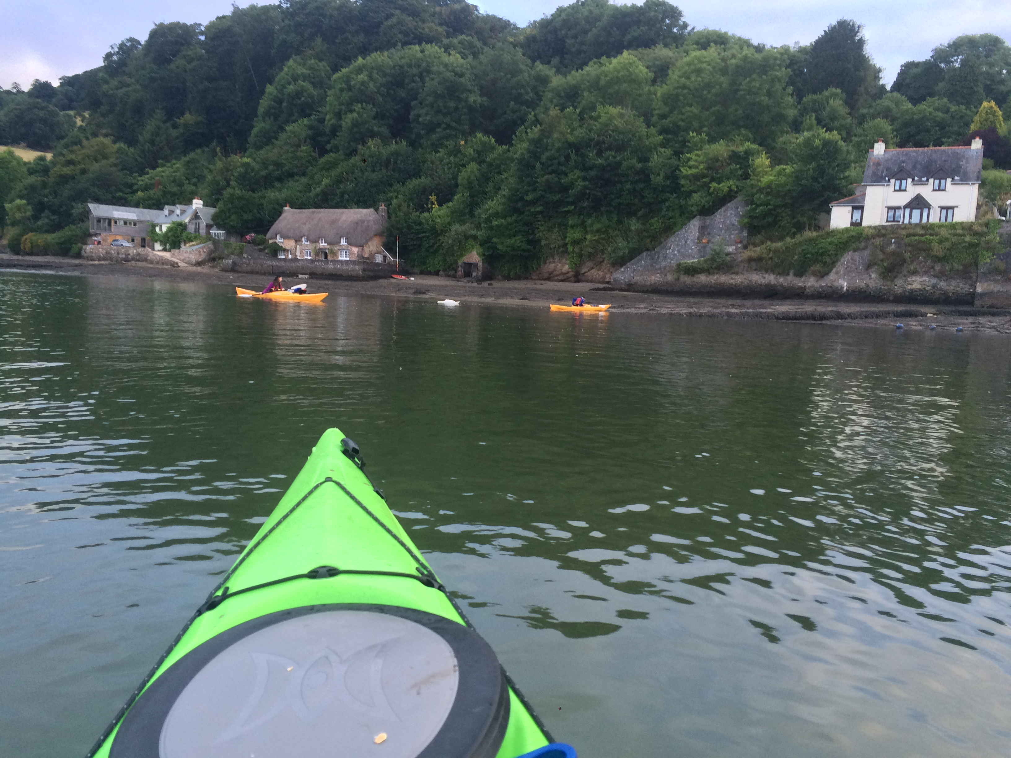 Sea Kayaking the backwaters of the Dart Estuary